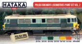 Hataka HTK-AS42 Polish Railways locomotives paint set vol. 2
