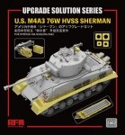 Rye Field Model 2002 Upgrade Solution for U.S. M4A3 76W HVSS Sherman for RM-5028/RM-5042 1/35