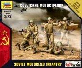 Zvezda 7404 Soviet Motorized Infantry 1/72