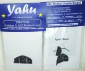 Yahu YMA7230 Fokker DXXI Finland early (MPM / Special Hobby) 1:72