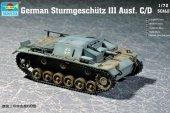 Trumpeter 07257 German Sturmgeschutz III Ausf. C/D (1:72)