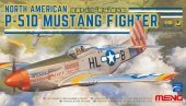 Meng Model LS-006 North American P-51D Mustang Fighter 1/48