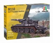 Italeri 6574 M110 Self Propelled Howitzer 1/35