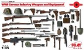 ICM 35678 WWI German Infantry Weapon and Equipment (1:35)