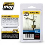 AMMO of Mig Jimenez 8017 RIGGING – MEDIUM FINE 0.02 MM