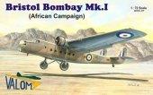 Valom 72097 Bristol Bombay Mk.I African Campaign 1:72