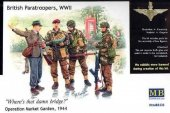 Master Box 3533 British paratroopers, 1944. Kit 1 (1:35)