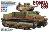 Tamiya 35344 French Medium Tank SOMUA S35 (1:35)