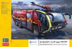 Hasegawa SP486-52286 Rosenbauer Panther 6x6 Airport Crash Tender World Panther 1/72