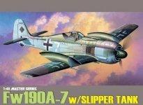 Dragon 5545 Focke-Wulf Fw 190A-7 w/Slipper Tank 1/48
