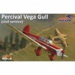 Dora Wings 72002 Percival Vega Gull 1/72