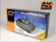 AK Interactive AK 160 Panzer Grey Modulation Set 6x17ml