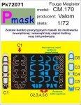 P-Mask PK72071 FOUGA CM.170 MAGISTER (VALOM) (1:72)
