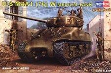 Hobby Boss 84801 U.S M4A1 76(W) TANK (1:48)