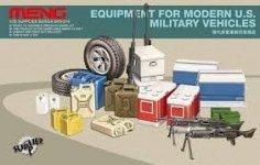 Meng Model SPS-014 Equipment for Modern U.S Military Vehicles (1:35)