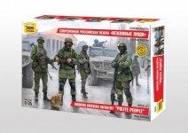 Zvezda 3665 Modern Russian Infantry Polite People