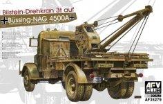 AFV Club 35279 German Kfz.100 Bussing Nag 4500A W/ Bilstein 3T CRANE