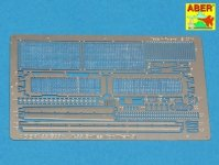 Aber 35G28 Grilles for Russian tank T-55 also Tiran 5 (1:35)