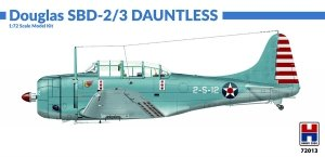 Hobby 2000 72013 Douglas SBD-2/3 Dauntless 1/72