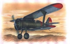 Azur A044 Polikarpov I-15 Guerra de Espana (1:72)