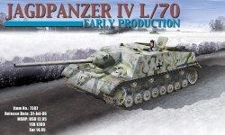 Dragon 7307 Jagdpanzer IV/70 Early Production (1:72)