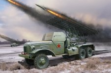 Hobby Boss 83846 Russian BM-13N (1:35)