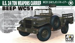 AFV Club 35S15 WC51 Weapon Carrier (1:35)