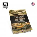 Vallejo 75013 Colours of War - Painting WWII & WWIII miniatures EN