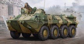 Trumpeter 01594 BTR-80 APC (1:35)