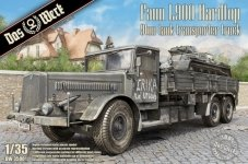Das Werk DW35001 Faun L900 Hardtop 9ton Tank Transporter Truck 1/35