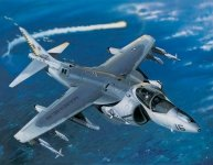 Trumpeter 02285 AV-8B Night Attack Harrier II (1:32)