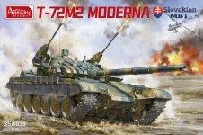 Amusing Hobby 35A039 T-72M2 Moderna Slovak MBT 1/35