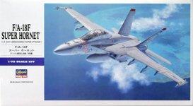 Hasegawa E18 F/A-18F Super Hornet (1:72)