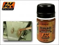 AK Interactive AK 046 Light Rust Wash 35ml