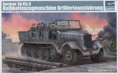 Trumpeter 05531 German Sd.Kfz.6 Halbkettenzugmaschine (1:35)