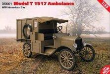 ICM 35661 WWI American Car Model T 1917 Ambulance 1/35