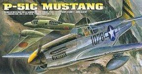 Academy 12441 P-51 C Mustang (1:72)(1616)
