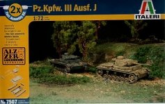 Italeri 7507 Panzer III Ausf J (1:72)