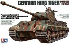Tamiya 35169 German King Tiger Porsche Turret (1:35)