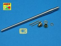 Aber 35L-094 Tank gun barrel for british A34 Comet (1:35)