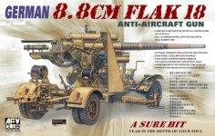 AFV Club 35088 8.8 cm Flak 18 AA Gun (1:35)