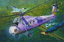 Trumpeter 02884 HH-34J USAF Combat Rescue 1/48