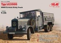 ICM 35405 Mercedes-Benz Typ LG3000 (German Army Truck) (1:35)