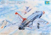 Trumpeter 03222 F-100D Thunderbirds (1:32)