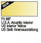 Vallejo 71107 US Interior Yellow