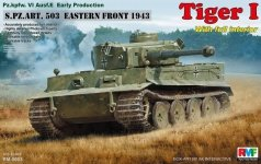 Rye Field Model 5003 Pz.kpfw.VI Ausf. E Tiger I Early Production (full interior)