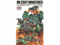 Tamiya 35038 German Machine Gun Troops (1:35)
