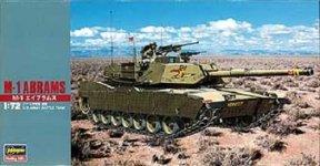 Hasegawa MT33 M1 Abrams (1:72)