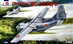 A-Model 01408 Fairchild UC-123B/K Provider (Operation Ranch Hand) (1:144)