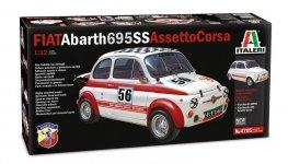 Italeri 4705 FIAT Abarth 695SS/Assetto Corsa 1/12